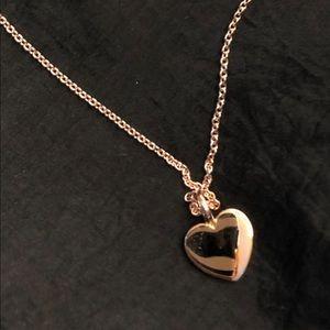 Tous vermil heart necklace